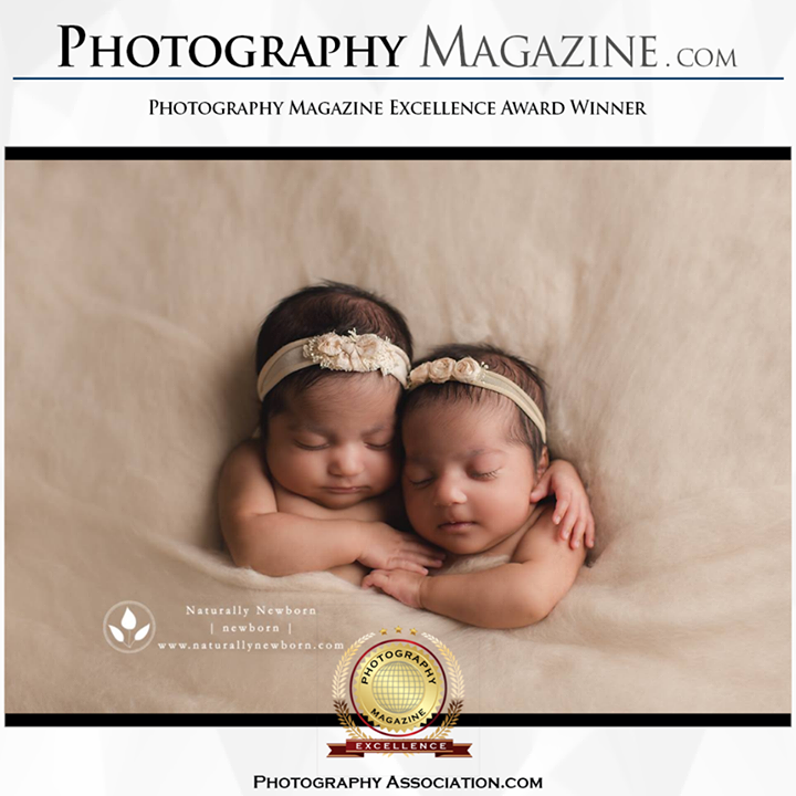 Naturally newborn photography magazine excellence award newborn photography photographyassociation com approved newborn photographer